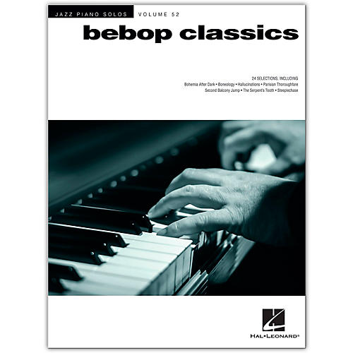 Hal Leonard Bebop Classics - Jazz Piano Solos Series Volume 52