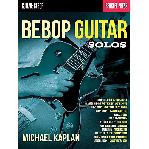 Berklee Press Bebop Guitar Solos - Berklee Press
