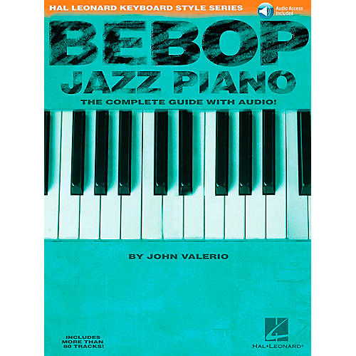 Hal Leonard Bebop Jazz Piano Hal Leonard Keyboard Styles Series Book/CD