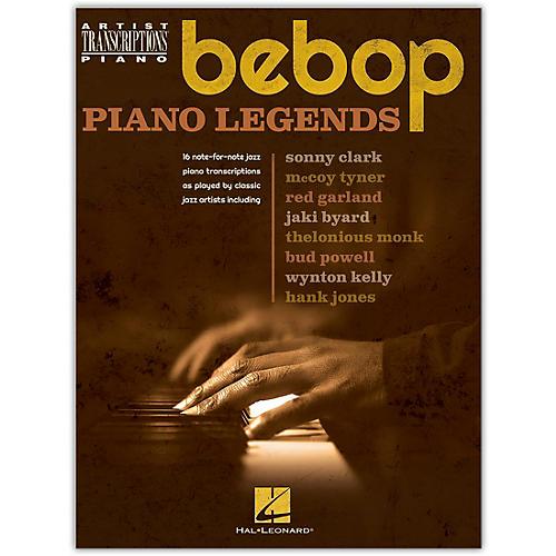 Hal Leonard Bebop Piano Legends - Artist Transcriptions for Piano