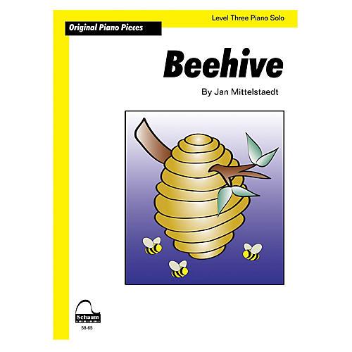SCHAUM Beehive (Schaum Level 3 Sheet) Educational Piano Book by Jan Mittelstaedt