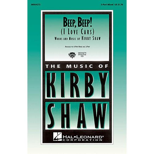 Hal Leonard Beep, Beep! (I Love Cars) ShowTrax CD Composed by Kirby Shaw