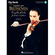 Music Minus One Beethoven - Complete Sonatas for Violin & Piano Music Minus One Series Softcover with CD by Mario Hossen