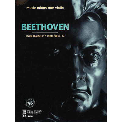 Music Minus One Beethoven - String Quartet in A Minor, Op. 132 Music Minus One Softcover with CD by Vieuxtemps String Quartet