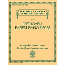 G. Schirmer Beethoven: Easiest Piano Pieces (Schirmer's Library of Musical Classics Vol. 2142) for Piano