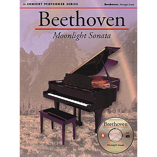 Music Sales Beethoven: Moonlight Sonata (1st Movement) Music Sales America Series Softcover with disk
