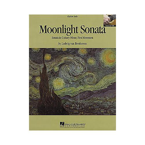 Hal Leonard Beethoven: Moonlight Sonata Guitar Sheet Music Book
