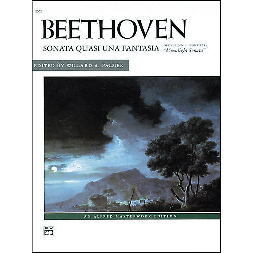 Alfred Beethoven Moonlight Sonata Op. 27 No. 2 (Complete) Late Intermediate/Early Advanced Piano Solo