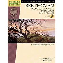 G. Schirmer Beethoven: Sonata No. 15 in D Major, Opus 28 (Pastoral) Schirmer Performance Edition BK/CD Edited by Taub