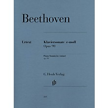 G. Henle Verlag Beethoven: Sonata No. 27 in E Minor, Opus 90 Henle Music Folios Series Softcover