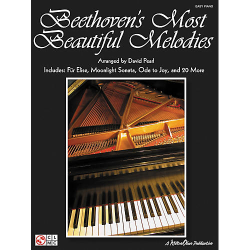 Cherry Lane Beethoven's Most Beautiful Melodies For Easy Piano