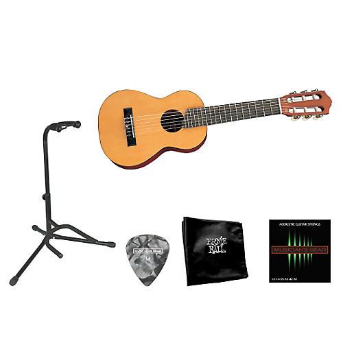 Yamaha Beginner 1/2 Scale Nylon Guitarlele Bundle