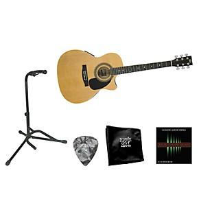 rogue beginner acoustic electric guitar bundle musician 39 s friend. Black Bedroom Furniture Sets. Home Design Ideas
