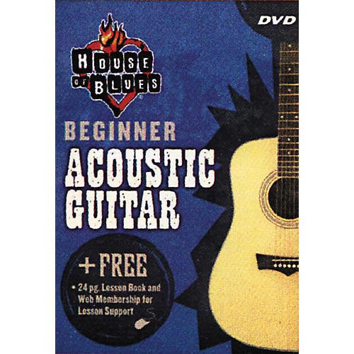 Hal Leonard Beginner Acoustic Guitar (DVD)