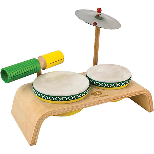 Green Tones Beginner Percussion Set