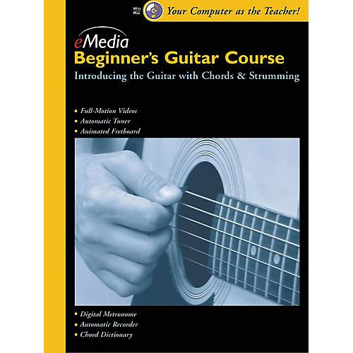 Emedia Beginner's Guitar Course, Vol. 1 (CD-ROM)