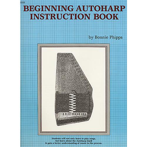 Alfred Beginning Autoharp Instruction Book