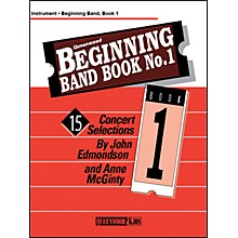 KJOS Beginning Band Book 1 Clarinet 1 /Edmondson /Queenwood