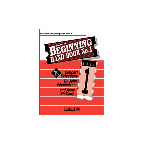 KJOS Beginning Band Book 1 Clarinet 2 /Edmondson /Queenwood