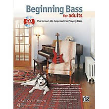 Alfred Beginning Bass for Adults Book & CD