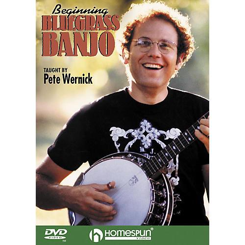 Homespun Beginning Bluegrass Banjo DVD