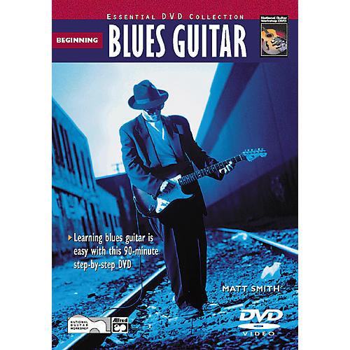Alfred Beginning Blues Guitar (Book/DVD)