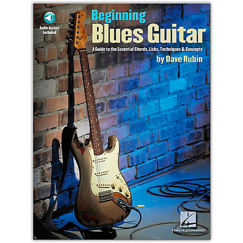 Hal Leonard Beginning Blues Guitar (Book/Online Audio)