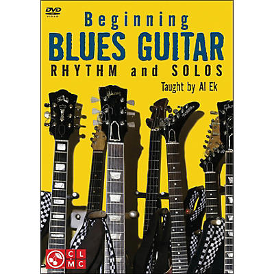 Cherry Lane Beginning Blues Guitar: Rhythm And Solos (DVD)