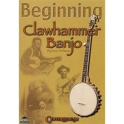 Centerstream Publishing Beginning Clawhammer Banjo (DVD)