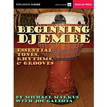Berklee Press Beginning Djembe Berklee Guide Series Softcover Video Online Written by Michael Markus