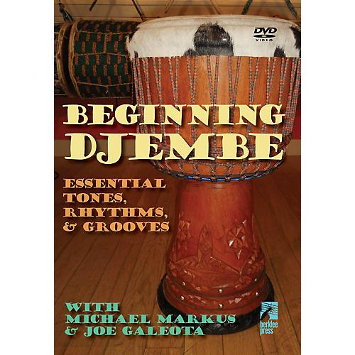 Hal Leonard Beginning Djembe: Essential Tones Rhythms & Grooves DVD