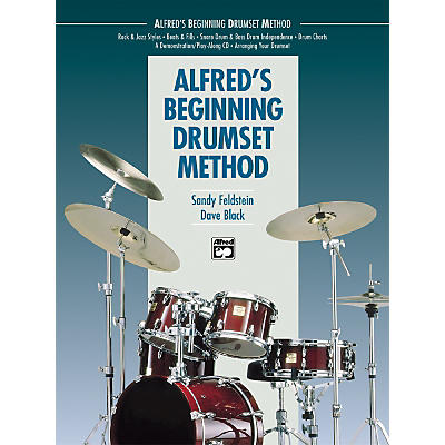 Alfred Beginning Drumset Method Book with CD
