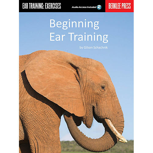 Berklee Press Beginning Ear Training Berklee Guide Series Softcover Audio Online Written by Gilson Schachnik