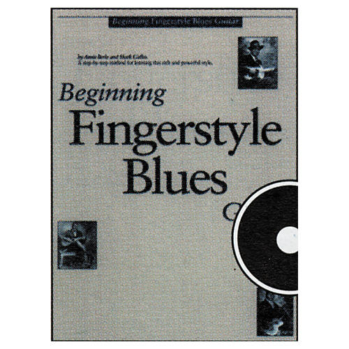 Music Sales Beginning Fingerstyle Blues GuitarCD