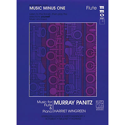 Music Minus One Beginning Flute Solos - Volume 1 Music Minus One Series