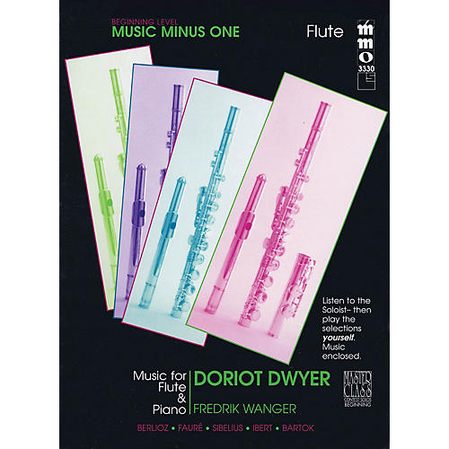 Music Minus One Beginning Flute Solos - Volume 3 Music Minus One Series Softcover with CD