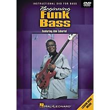 Hal Leonard Beginning Funk Bass (DVD)