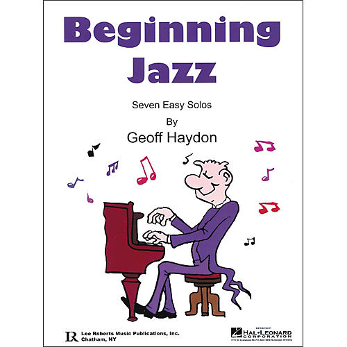 Lee Roberts Beginning Jazz (Book and CD Package)