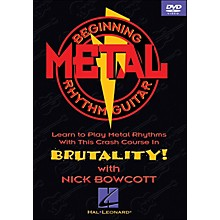 Hal Leonard Beginning Metal Guitar (DVD)