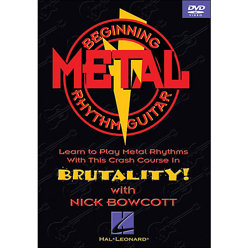 Hal Leonard Beginning Metal Guitar (DVD)