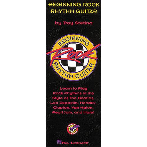 Hal Leonard Beginning Rock Rhythm Guitar Book