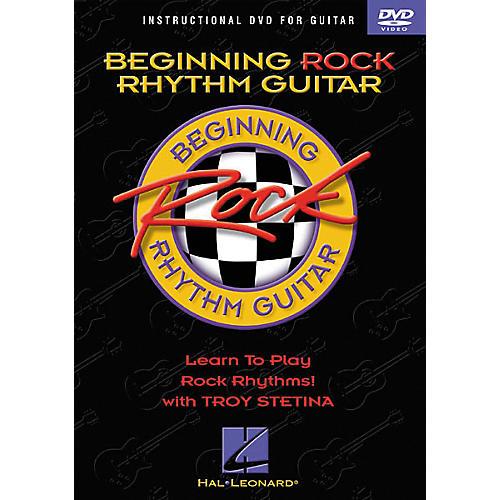 Hal Leonard Beginning Rock Rhythm Guitar (DVD)