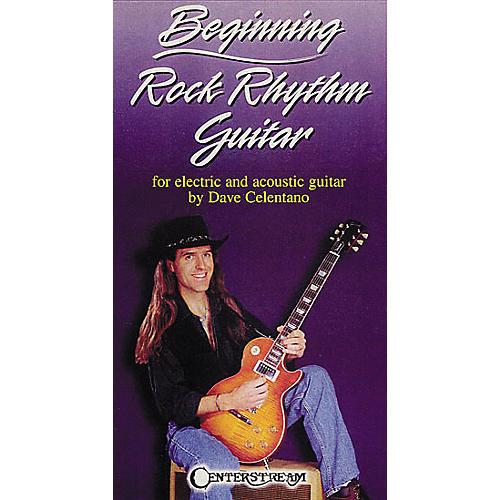 Centerstream Publishing Beginning Rock Rhythm Guitar VHS