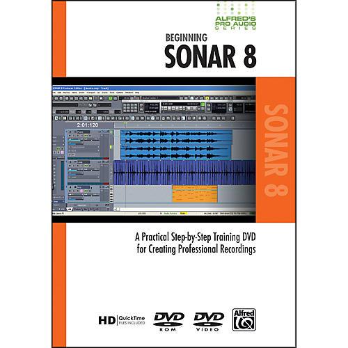 Alfred Beginning SONAR 8 (DVD)