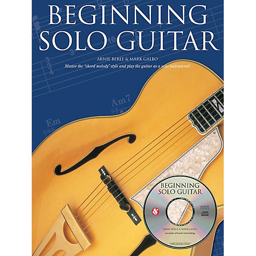Music Sales Beginning Solo Guitar Music Sales America Series Softcover with CD Written by Arnie Berle