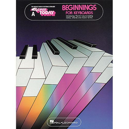 Hal Leonard Beginnings for Keyboards Book A EZ Play Songbook