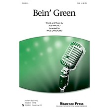 Shawnee Press Bein' Green (SAB) SAB by Kermit The Frog arranged by Paul Langford