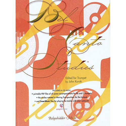 Carl Fischer Bel Canto Etudes for Trumpet Book