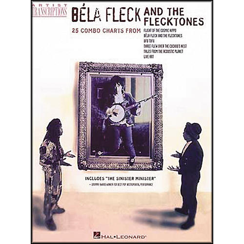 Hal Leonard Bela Fleck & the Flecktones Banjo Tab Songbook