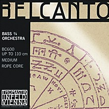 Belcanto 3/4 Size Double Bass Strings 3/4 Size Solo A String